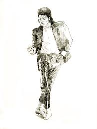 Michael Jackson Billie Jean Coloring Pages