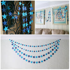 415cm Wall Hangings Props Decoration Star Card Paper Wedding Party