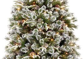 7ft Slim Led Christmas Tree by Kaemingk Everlands Snowy Alaskan Pre Lit Christmas Tree E2 80 93