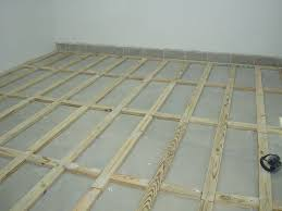 Installing Laminate Floors Over Concrete by How To Install A Plywood Shop Floor The Wood Whisperer