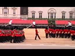trooping the colour rehearsal may 2015 parade march youtube
