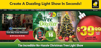 Tree Dazzler Review Instant Christmas Lights