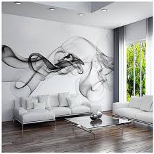Custom 3D Photo Wallpaper Smoke Clouds Abstract Artistic Wall Paper Modern Minimalist Bedroom Sofa TV