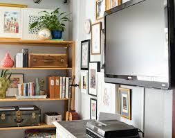 Shelf Fascinating Wall Shelves Around Tv Floating