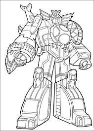 Click To See Printable Version Of Power Ranger Megazord Coloring Page