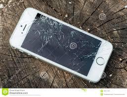Broken iphone editorial photography Image of puter