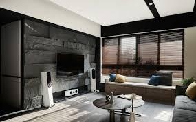 diese unikale wohnzimmer steinwand ist ein wahres optisches