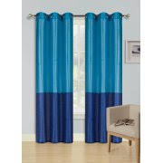 Brylane Home Grommet Curtains by Turquoise Curtains
