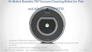 Roomba For Hardwood Floors Pet Hair by Top 10 Robotic Vacuum For Pet Hair Reviews Youtube