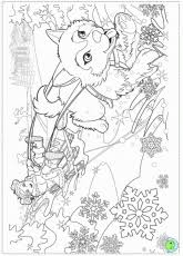 Barbie Christmas Colouring Pages