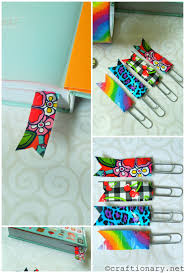 Halloween Washi Tape Ideas by Diy Duct Tape Ideas Make Simple Crafts Bookmark Ideas Simple