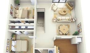 104 Two Bedroom Apartment Design House Plans Architecture House Plans 143893