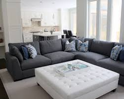 stunning couch with ottoman sofa with ottoman home design ideas