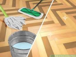 how to clean linoleum floors 9 steps with pictures wikihow