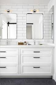 Industrial Modern Bathroom Mirrors by Modern Farmhouse Bathrooms House Of Hargrove