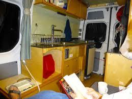 Galley Cabinetry In The Willimann DIY Sprinter Camper Van Photo Urs