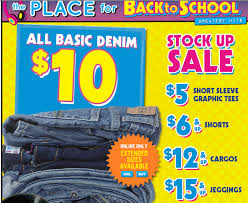 Children's Place Coupon - $10.00 Off $40.00 Purchase - FTM
