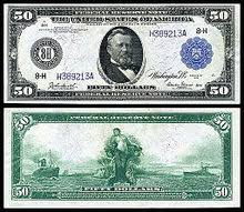 1914 Federal Reserve Note The United States Fifty Dollar Bill