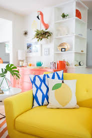 mrs lilien s colorful tropical living room makeover decorating