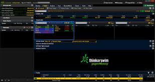 Sink Or Swim Trading by Schwab Streetsmart Edge Vs Thinkorswim Compare Trading Platforms
