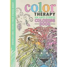 Color Therapy Adult Coloring Awesome Anti Stress Book