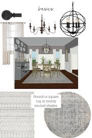 East Coast Dining Room Design Plans On A Budget