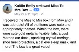 Miss To Mrs Box Reviews Updated July 15 2018