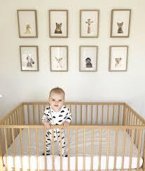 Ikea Rocking Chair Nursery by Spencer U0027s Neutral Nursery Featuring The Stunning The Animal Print