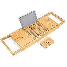Bamboo Bathtub Caddy Canada by Bamboo Bathtub Caddy Non Slip Bath Tub Tray With Extending Sides