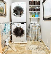 Create Fabulous Style In A Small Laundry Room