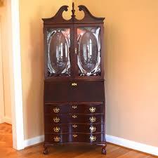 Jasper Cabinet Company Secretary Desk by Jasper Cabinet Company Mahogany Secretary Ebth