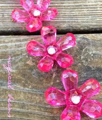 Pink Vintage Dresser Knobs pink drawer knobs vintage daisy knobs decorative knobs flower