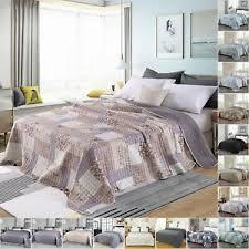 details zu tagesdecke bettüberwurf polyester plaid bettdecke patchwork bett decke sofadecke