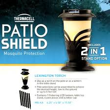 Thermacell Mosquito Repellent Patio Lantern Refills by Thermacell Mosquito Repellent Backyard Torch