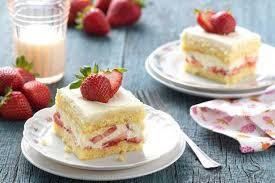 dessert aux fraises gâteau aux fraises dziriya net