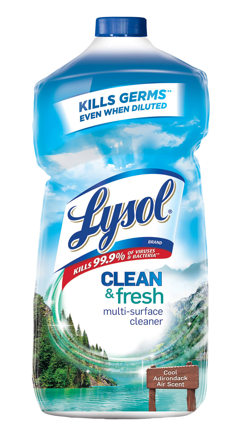 Lysol Multi-Surface Cleaner - Waterfall Splash and Mineral Essence