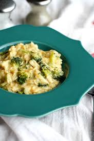 Cheesy Broccoli Chicken Rice