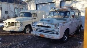 Is The Price Right? 1957 Dodge Town Wagon & 1958 Town Panel | Barn ... 1957 Dodge Pickup Chrome For Sale All Collector Cars File1957 Pop Truck 8218556jpg Wikimedia Commons D100 For Classiccarscom Cc1073496 Danbury Mint Sweptside 1 24 Cot Ebay Im Looking To Trade Muscle Mopar Forums Realworld Classic Trucking Hot Rod Network S72 Austin 2015 Bobs 1985 Dodge Truck Bills Auto Restoration Giant Power Wagon W100 12 Ton Rare Factory 4x4 Of At Vicari Auctions Biloxi 2017 Information And Photos Momentcar