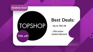 10-70% Off - Topshop Student Discount/Coupons! Spanx Coupon Code November 2019 Hobby Master Newport Cigarettes Codes Tshop Coupon Promo Codes October 20 Off Lowes Coupons And Discounts Kia For Brakes Off Hudsons Bay Coupons Sales Nhs Discount List Discount The Resort On Singer Island Namshi Code Upto 70 Uae Buy Designer Handbags Online Uk Cool Contacts How To Get Magic Promo Pacsun In Store Eatigo Hk200 Voucher Oct Hothkdeals Moosejaw 2018 Free Digimon
