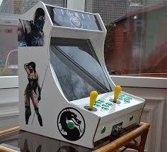 tabletop arcade machines half cabinet half amazing technabob