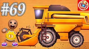 100 My Truck Buddy Harvester Roll Machine WEAPON VS The Kick The
