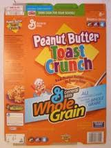 Empty General Mills Cereal Box 2005 P EAN Ut Buter Toast Crunch 153 Oz