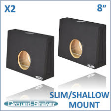 "BLACK 8"" SINGLE (2 PIECES) SEALED SLIM / SHALLOW MOUNT SUB BOX, FITS ... Universal Regular Standard Cab Truck Harmony R104 Single 10 Sub Box Alpine Inch 1000 Watt Loaded Ported Subwoofer Enclosure Buy Bass Package With By Ct Custom Fitting Car And Boxes Imc Audio Mdf Car Audio Dual Sealed Reg Kicker 40tcws104 Box Dub2100a 200 Amp Chevy Silverado 9906 Ext Dual 12 12inch Enclosures Singsealed New W Toyota Tacoma 0515 Double"