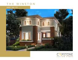 100 Capstone Custom Homes Winston