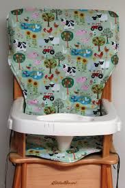 Eddie Bauer Wooden High Chair Pad, Replacement Cover, Jolly Time ...