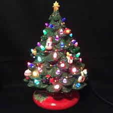 Vintage Atlantic Mold Ceramic Christmas Tree by Christmas Ceramic Christmas Tree Molds Lights Decoration Vintage