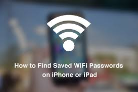 How to Find Saved WiFi Passwords on iPhone or iPad iBlogApple