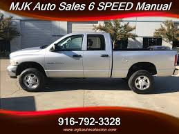 2004 Dodge Ram 2500 5.9 Cummins Diesel 4x4 6 Speed Manual For Sale ...