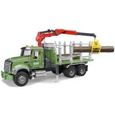 Bruder Toys MACK Granite Kids Timber Truck W/ Loading Crane & 3 ... Bruder Toys Mack Granite 116 Play Snow Plow Dump Truck With Front Lego 42078 Technic Anthem Toyworld Httpswwwckmhopcoentimagesthumbs Cstruction Videos Disney Pixar Cars Hauler For Best Choice Products Set Of 3 Push And Go Friction Powered Car Mack Tip Up Jadrem Brand New Pack Lego Set Train Toy 2 Wally Exclusive Semi Trucks Disneypixar 124 Tractor By Jada The Only Ride On Hammacher Schlemmer Tanker Bta02827 Hobbies Amain