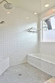 subway tile to ceiling kitchen pictures of tiled showers with gl